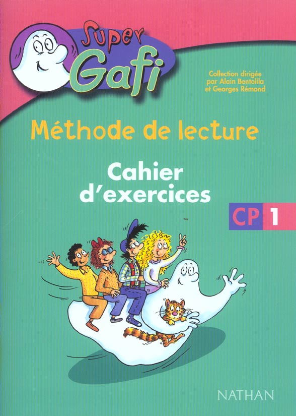 Super Gafi; Lecture ; Cp ; Cahier D'Exercice T.1
