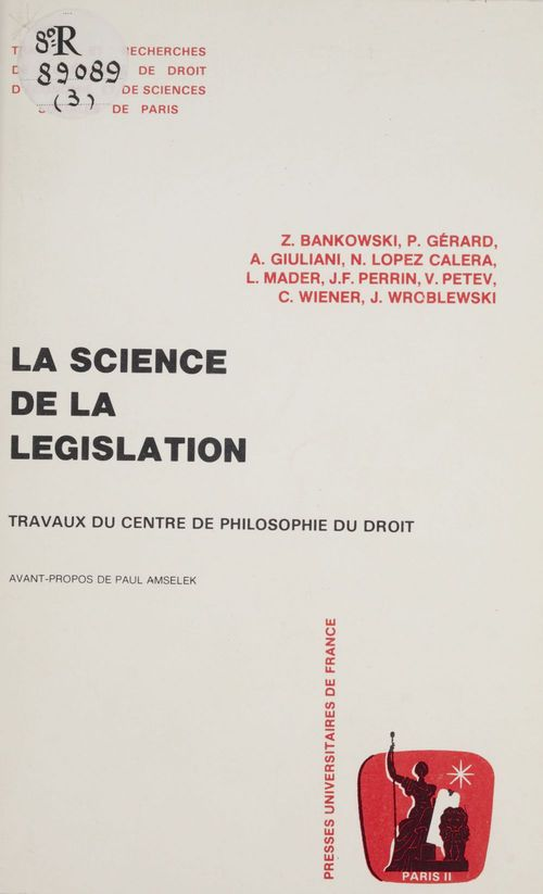Science legislation $