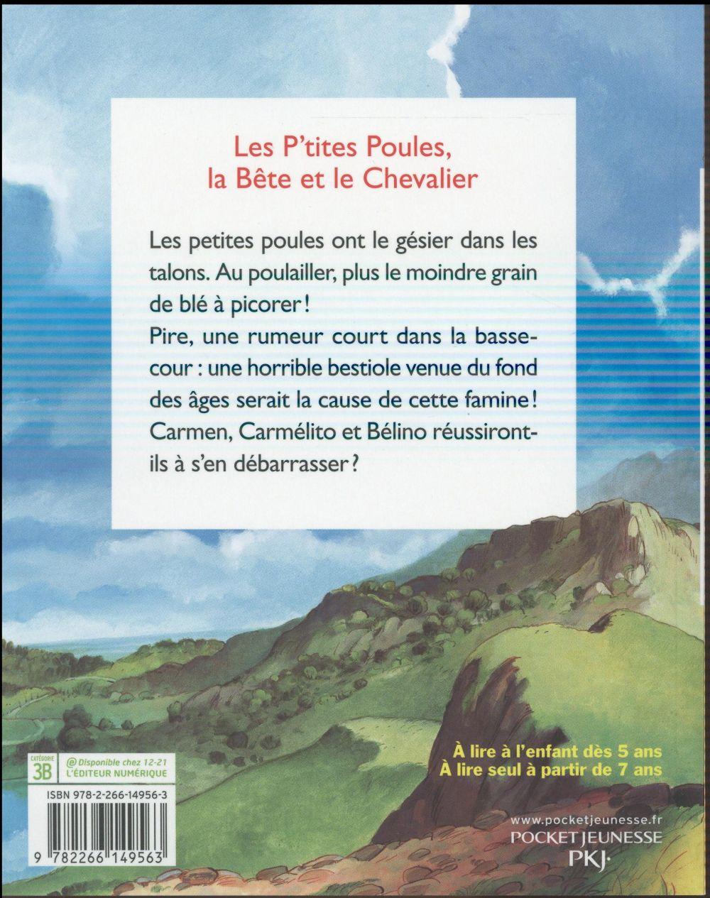 les P'tites Poules t.6 ; les P'tites Poules, la bête et le chevalier