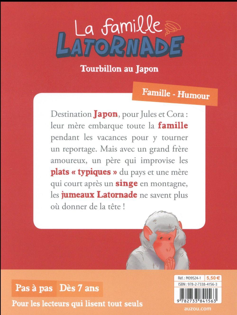 la famille Latornade t.2 ; tourbillon au Japon
