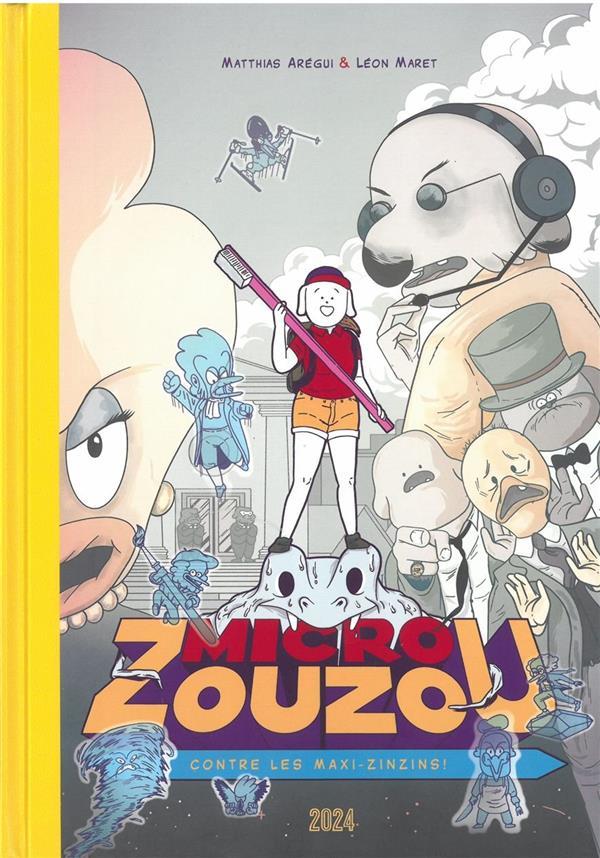 Micro Zouzou contre les Maxi-Zinzins