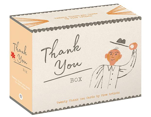 Thank You Box 20 Thank You Cards By 5 Artists