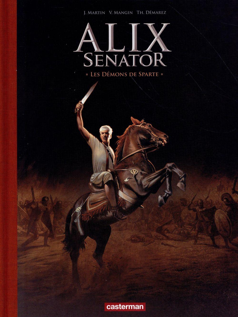 Alix Senator t.4 ; les demons de Sparte