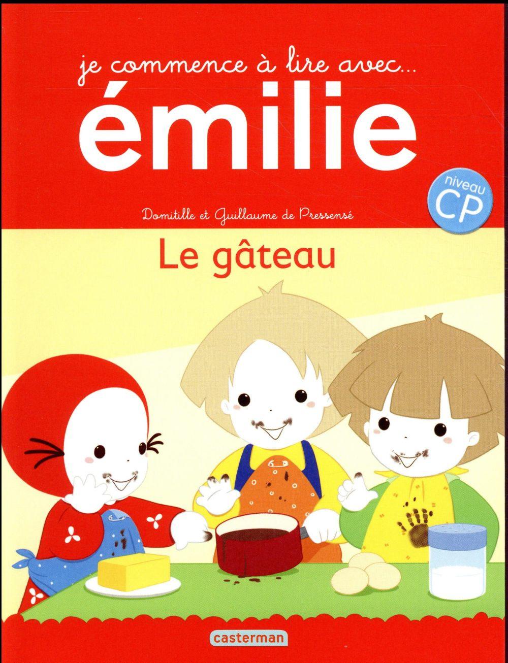 Je commence à lire avec Emilie T.15 ; le gâteau ; niveau CP