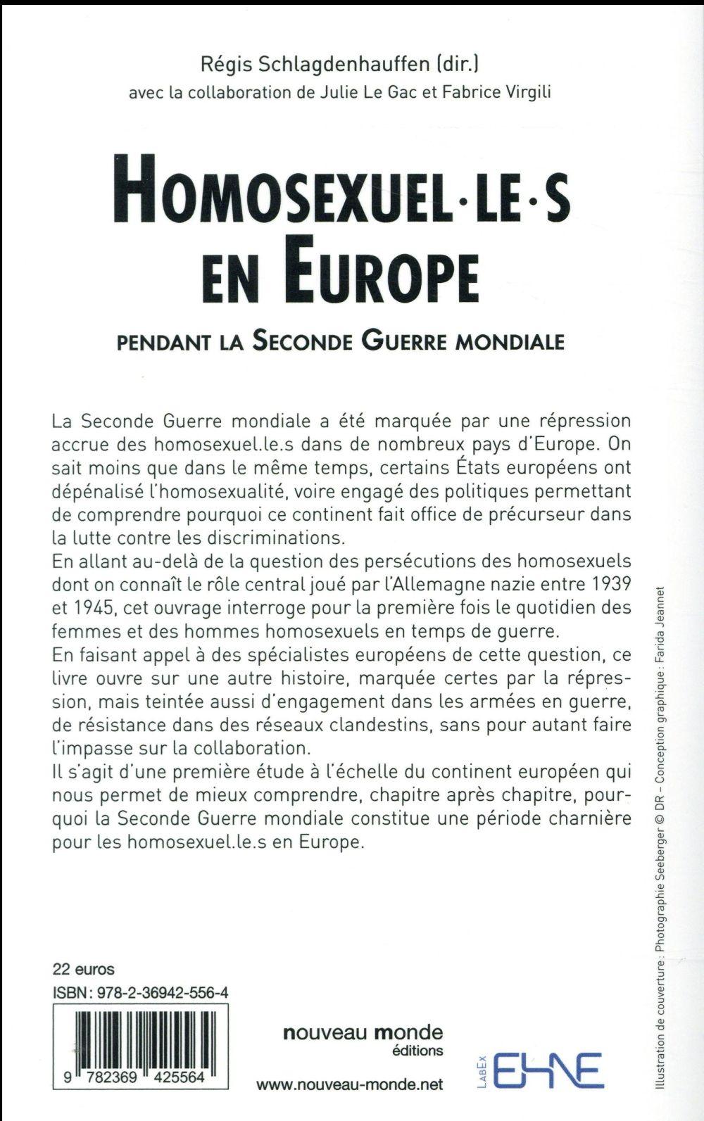 homosexuel(les) en Europe ; pendant la seconde guerre mondiale
