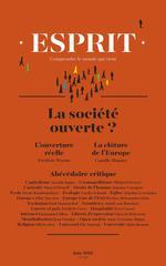 Vente Livre Numérique : Esprit juin 2018 La société ouverte ?  - Camille Riquier