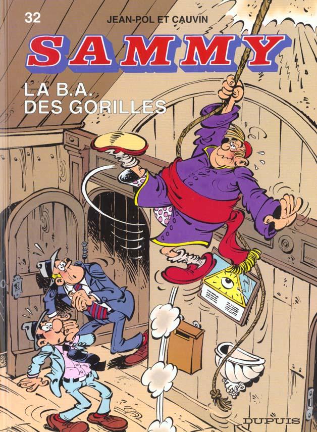 Sammy T.32 ; La B.A. Des Gorilles