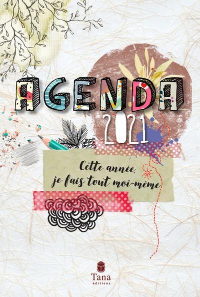 Agenda ; cette année, je fais tout moi-même (édition 2021)