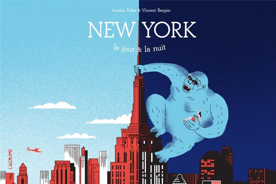New York, le jour et la nuit