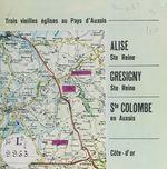 Trois vieilles églises au Pays d'Auxois