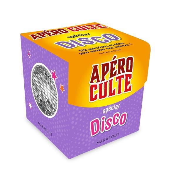 Mini-boîte apéro culte ; spécial disco