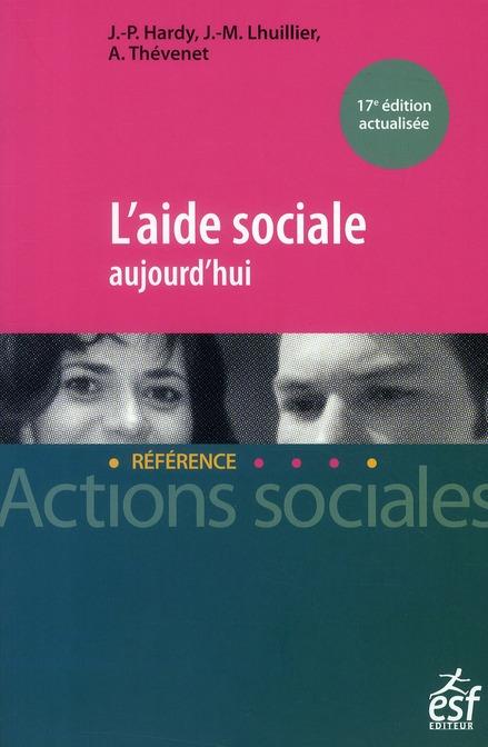 L'aide sociale aujourd'hui (17e édition)