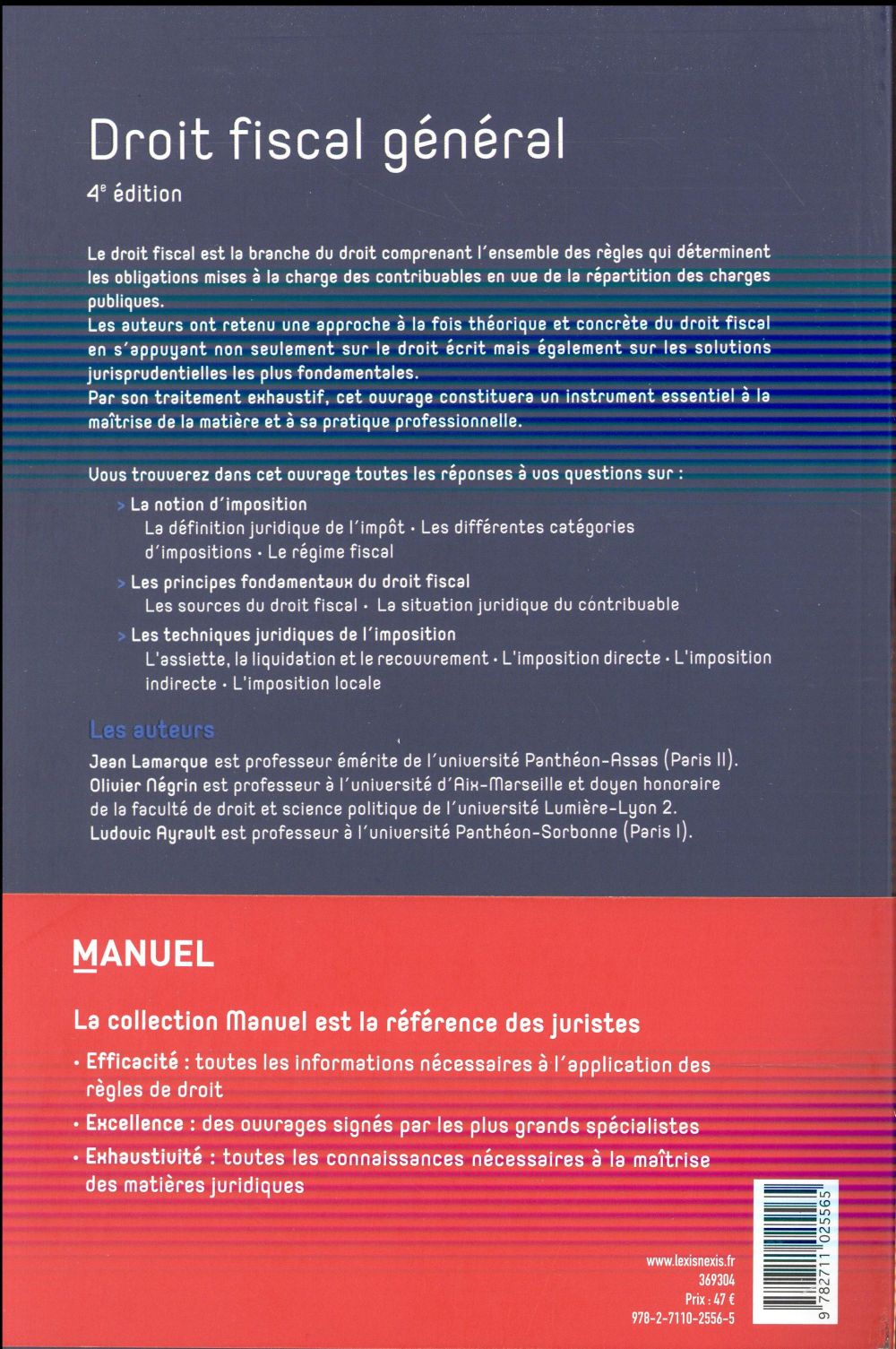 Droit fiscal général (4e édition)