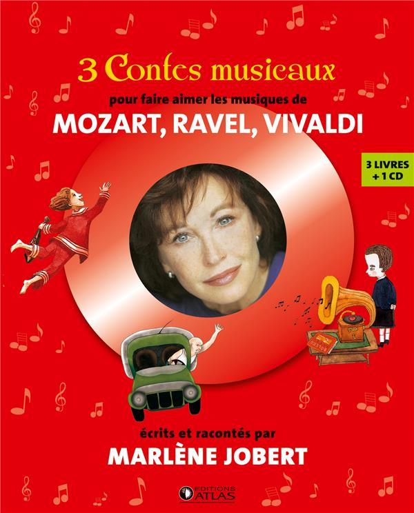 COFFRET 3 CONTES MUSICAUX - POUR FAIRE AIMER LES MUSIQUES DE MOZART, RAVEL, VIVALDI Mansot Fr