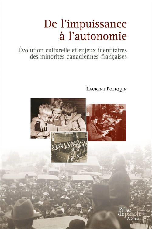 De l'impuissance a l'autonomie : evolution culturelle et enjeux