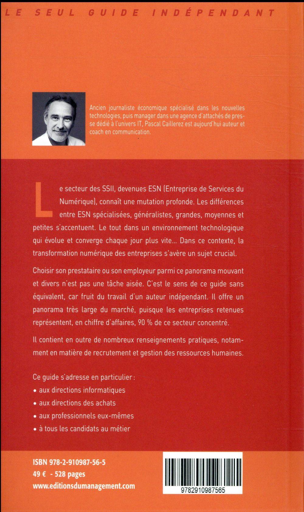Le guide des SSII/ESN ; les 70 premières SSII et entreprises de services du numérique (4e édition)