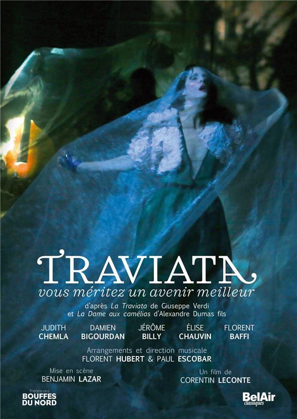Traviata. You deserve a better future/ vous méritez un avenir meilleur