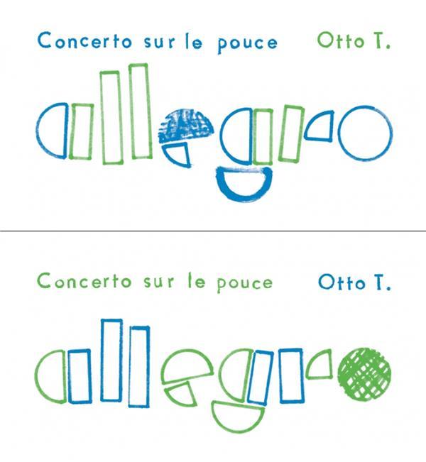 Allegro, concerto sur le pouce