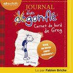 Vente AudioBook : Journal d'un dégonflé 1 - Carnet de bord de Greg Heffley  - Jeff Kinney