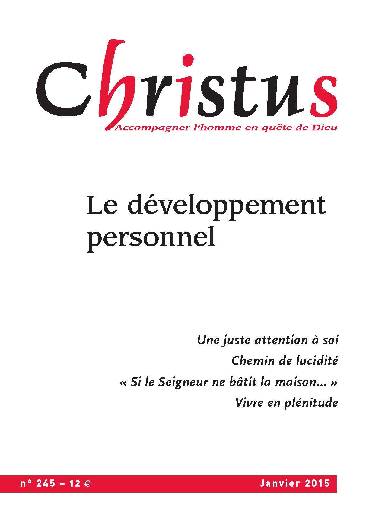 Christus Avril 2015 - N°246