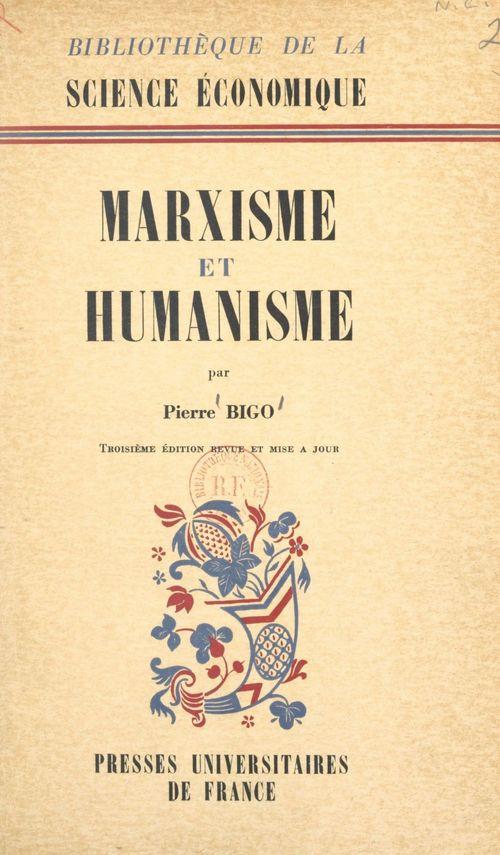 Marxisme et humanisme