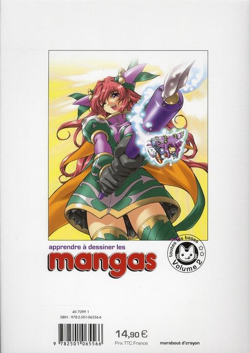 Apprendre à dessiner les mangas t.2 ; du dessin à l'encre ; proportions, visages, mouvements