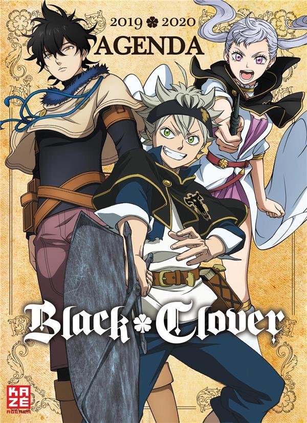 Black Clover ; agenda scolaire (édition 2019/2020)
