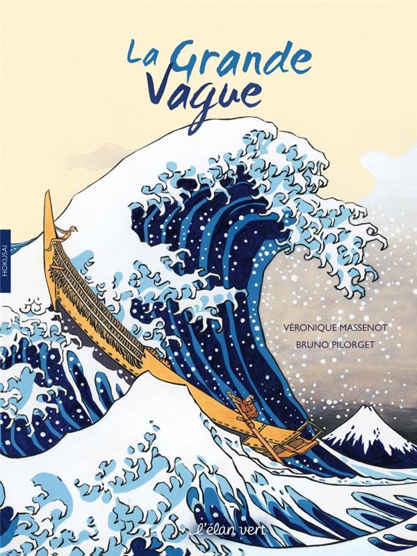 La grande vague ; Hokusai