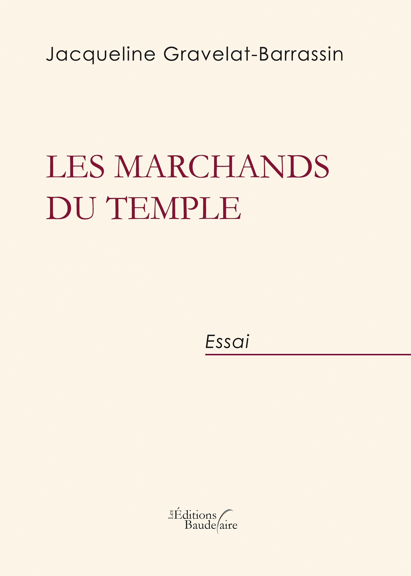 Les marchands du temple