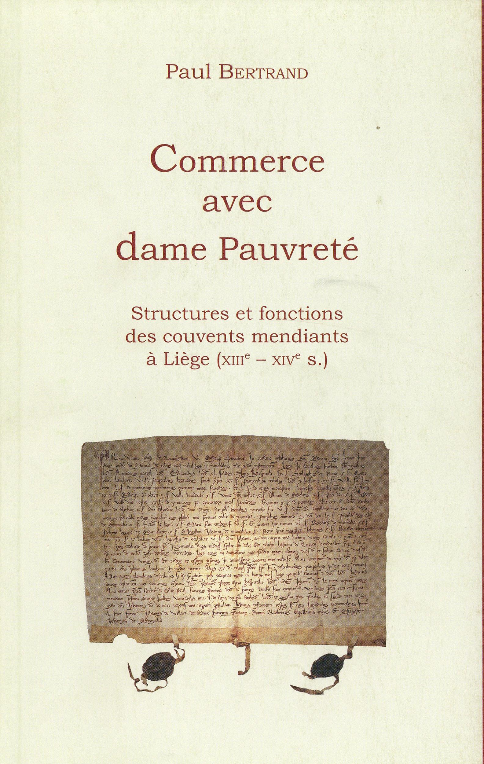 Commerce avec dame Pauvreté  - Paul Bertrand