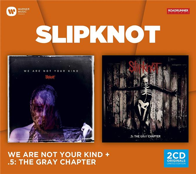 coffret 2cd (We are not your kind & 5:The gray chapter)