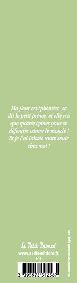 Marque-page Le Petit Prince T.4