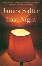 Vente Livre Numérique : Last Night  - James Salter