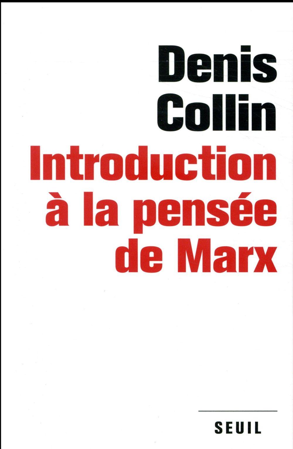 Introduction à la pensée de Marx