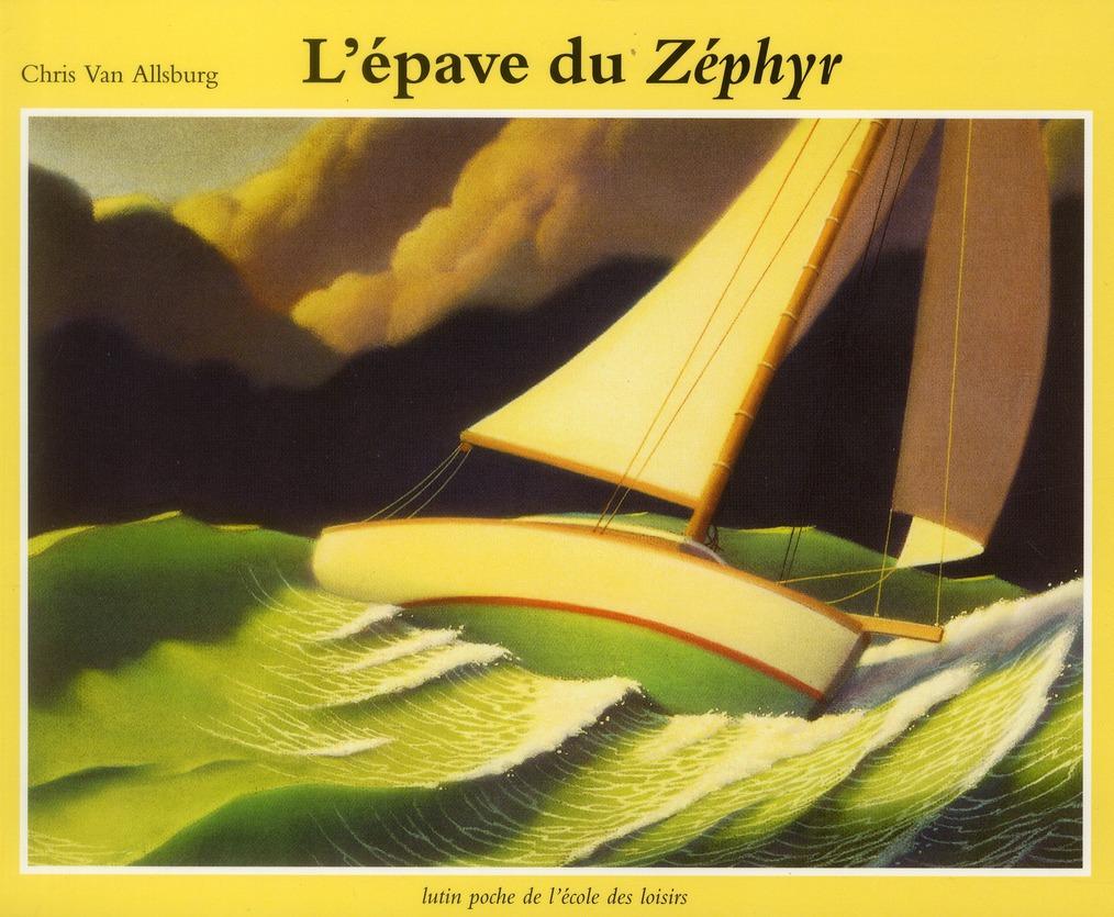 l'épave du Zéphyr