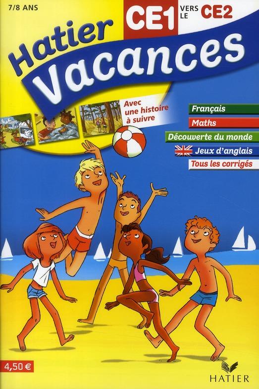 Hatier Vacances; Du Ce1 Vers Le Ce2 ; 7/8 Ans