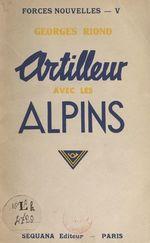 Artilleur avec les Alpins