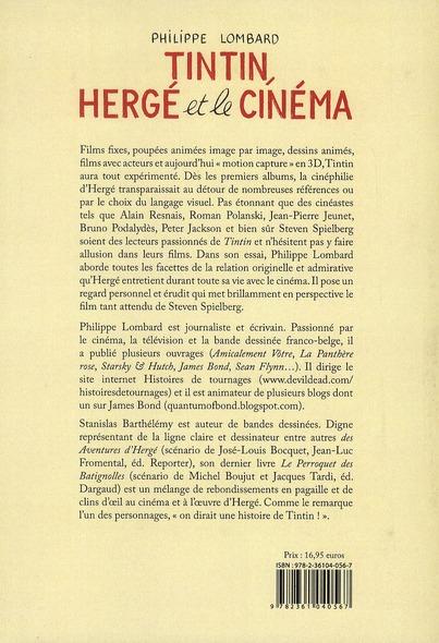 Tintin, Hergé et le cinéma
