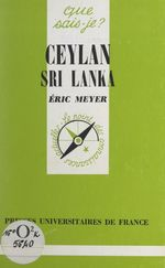 Vente EBooks : Ceylan, Sri Lanka  - Eric Meyer