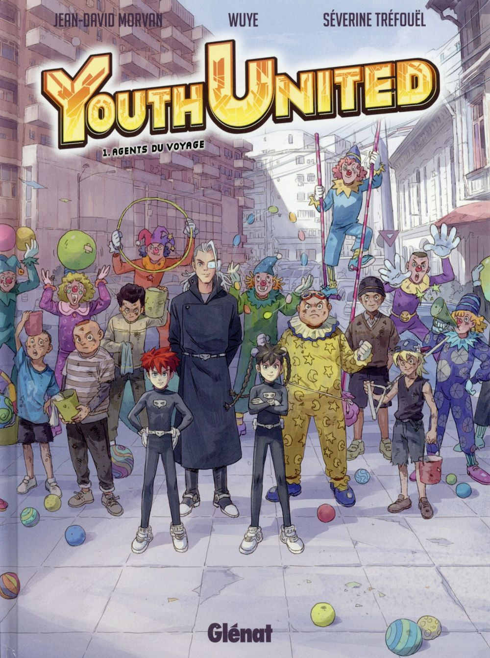 youth united t.1 ; agents de voyage