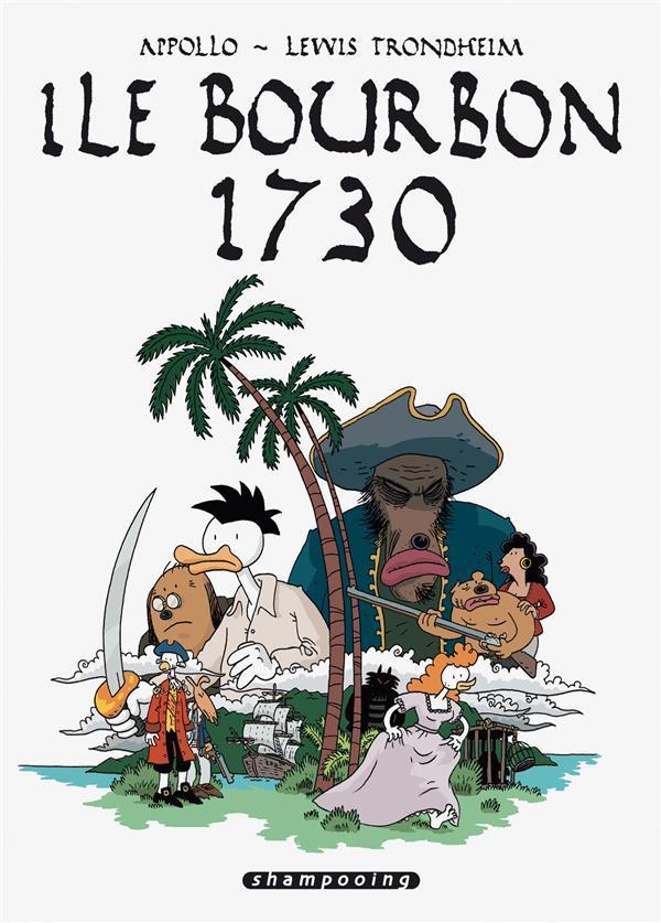 île bourbon 1730
