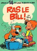Couverture de Boule & bill t.14 ; ras le bill !