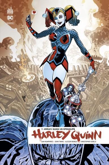 Harley Quinn rebirth T.7 ; Harley Quinn vs Apokolips