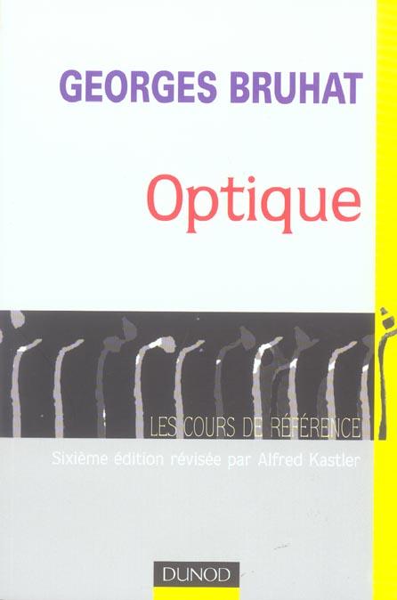 Optique - 6eme Edition (6e Edition)