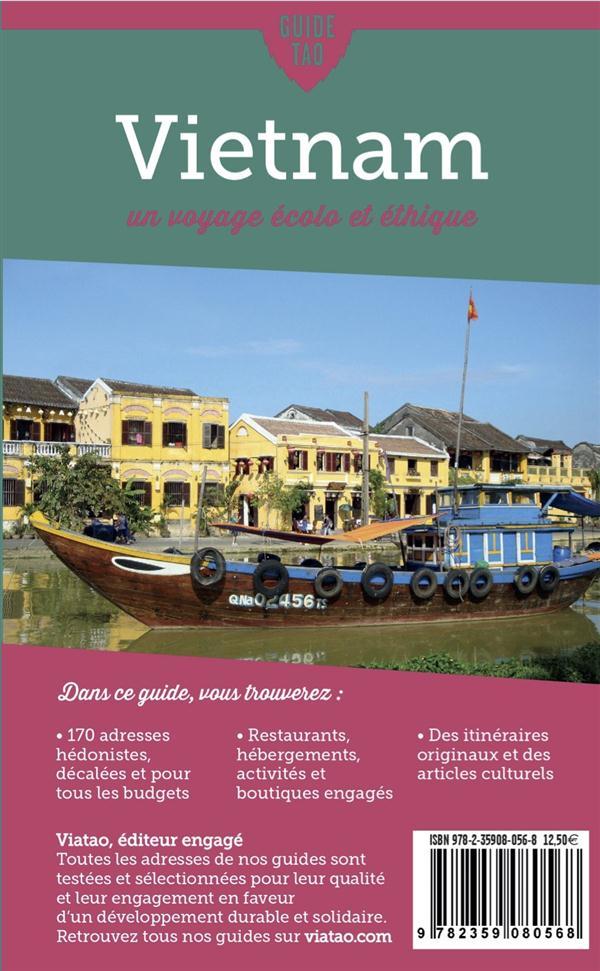 Guide tao ; Vietnam ; un voyage écolo éthique