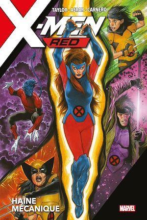 X-Men ; red