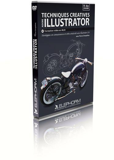 Adobe Techniques Creatives Illustrator Cs4. Formation Video En 4h20