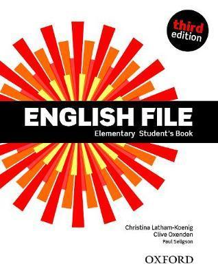 English file 3rd edition elementary: student's book pack 2019 edition