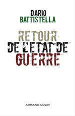 Retour de l'état de guerre  - Dario Battistella
