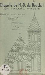 Chapelle de Notre-Dame du Bouchet en vallée d'Aure